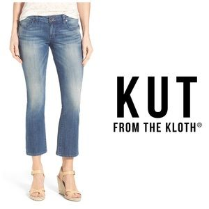 Kut From The Kloth Reese Crop Flare Leg Jeans 👖
